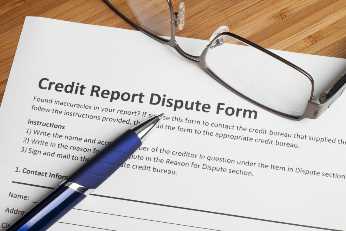Handling Your Own Credit Disputes